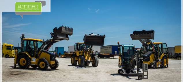 Представяне на новите челни товарачи на Volvo
